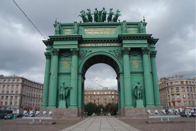 Narva Triumphal Gate1