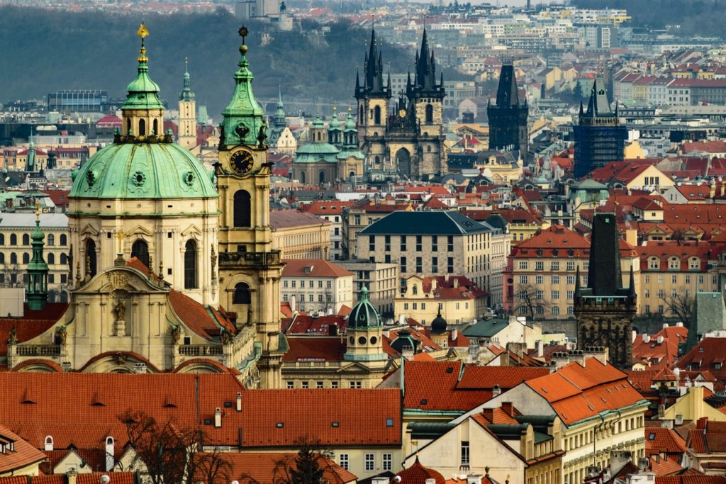 Prague private jet charter services